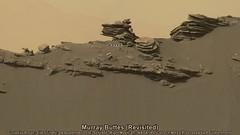 Mars: Murray Buttes (Revisited) (PaulH51) Tags: nasa jpl marssciencelaboratory mastcamright curiosityrover nasajplcaltechmsss planetmars galecrater exploration discovery sedimentaryrocks geology murraybuttes rocks mosaic msice aeolianlandscape mountsharp planetaryscience algorimancerpg sandstone stimsonunit scalebaradded mesa butte