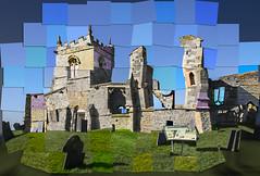 The Old Church (NathanBateson) Tags: church david hockney joiner montage ruins tiles
