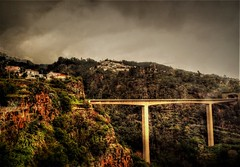 Span (diminji (Chris)) Tags: funchal madeira hdr hdrtoning bridges spans ravine roadbridge