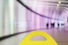 - Slippery Floor - (Jacqueline ter Haar) Tags: kingscross stpancras station pancrassquare granarysquare wayout london londen focus tunnel