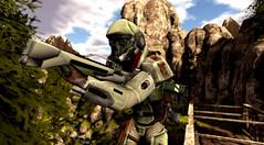 Commissar (Eridanus Industries) Tags: slmc second life military combat sl an alliance navy eridanus azrial weapons armor gear scifi sci fi science fiction guns