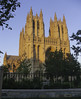 National Cathedral Washington DC (JulesAlvarez) Tags: usa washington washingtondc architecture bluesky capital cathedral church clearskies clearsky houseofworship spires sunset temple trees uscapital districtofcolumbia unitedstates us