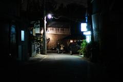 2140/1809 (june1777) Tags: snap street alley seoul bukchon night light sony nex3 cosina voigtlander nokton 35mm f12 3200