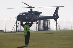 I can lift a Gazelle Helicopter (NTG's pictures) Tags: middlewallop hampshireengland gazelle50th anniversary fly in aac alat raf faa aerospatiale sa341j gazelle yuhpz