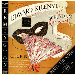 Schumann Carnaval • Chopin Prelude • Berceuse • Etude • Barcarolle - Kilenyi Remington 1 (sacqueboutier) Tags: vintage vinyl vinyllover vinylcollection vinylnation vinylcollector lp lplover lps lpcollection lpcover lpcollector lpcoverart records record discs classical classicalmusic music remington