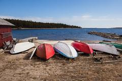 En attendant l'été (sosivov) Tags: sweden sea bothniansea landscape boats