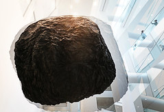Teoria (kirstiecat) Tags: eduoardobesualdo teoria theory art sculpture montrealmuseumoffineart montreal canada portuguese rock ominous foreboding weird wonderful creative interesting modernart people strangers quebec
