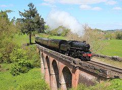 43106 Flying Pig on Oldbury Viaduct on the Severn Valley Railway (Keith Wilko) Tags: svr severnvalleyrailway shropshire steamtrain steamtrains railway railways steamrailways steamengines 43106 flyingpig 43106flyingpig flyingpig43106 theflyingpig lms lmsr darlingtonworks darlington 260 steamengine43106 svr43106 sevenvalleyrailway oldburyviaduct bridge viaduct railwaybridge bricks loco43106 43106loco locomotive43106 43106theflyingpig lms43106 train43106 svrloco43106 engine steamtrain43106 ivatt ivatt43106