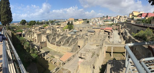 Herculaneum, Italy - April 2017