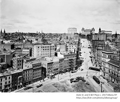 D& H Plaza  at Broadway and State  circa  1917  albany ny (albany group archive) Tags: early 1900s