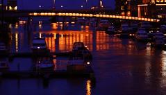 Nidelva (g.rokke) Tags: nidelva vann water reflection refleksjon lys lights evening avond bluehour blåtime boats båter solsiden trondheim trøndelag sørtrøndelag norge noorwegen norway elv river rivier