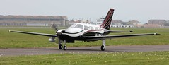 Piper PA-46-350P Malibu Mirage N464LB Lee on Solent Airfield 2017 (SupaSmokey) Tags: piper pa46350p malibu mirage n464lb lee solent airfield 2017