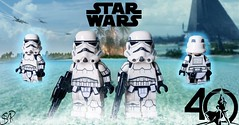 LEGO Star Wars- Stormtroopers (Original Trilogy) (Sir Prime) Tags: lego starwars anewhope theempirestrikesback returnofthejedi originaltrilogy empire stormtrooper custom moc