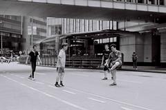 Game On (Explored) (OzGFK) Tags: street friends people men film sport analog hongkong asia mates pentaxmx
