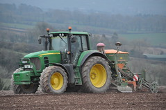 John Deere 7430 Tractor with an Amazone AD-P 303 Special Seed Drill & Power Harrow (Shane Casey CK25) Tags: county ireland horse irish tractor green field set work john one hp corn traktor power earth farm cork farming grain working pass seed special soil dirt till crop land crops farmer agriculture jd setting pulling contractor deere sow drill tracteur trator harrow tilling adp 303 trekker amazone sowing agri tillage cignik  7430 traktori onepass castlelyons
