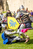 [2014-04-19@14.03.26a] (Untempered Photography) Tags: history costume fight ruins helmet medieval weapon sword knight shield combat armour reenactment skirmish combatant chainmail glastonburyabbey canonef50mmf14 perioddress platearmour mailarmour untemperedeye canoneos5dmkiii untemperedeyephotography battleheritage glastonburymedievalfayre2014