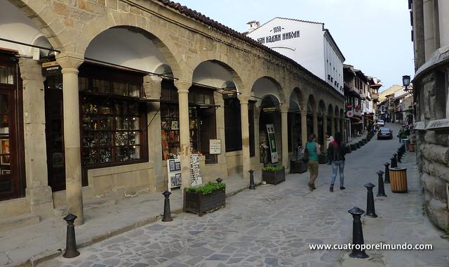 Otra de las calles de la zona historica de Veliko Tarnovo
