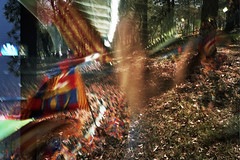 The New Camp Nou /08 (MA!LO) Tags: barcelona 35mm stadium doubleexposure bcn 200asa olympusxa2 fcbarcelona analogic dobleexposicion analgic fujicolorc200