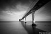 (Claire*Marsh) Tags: new uk longexposure bridge shadow sea england blackandwhite bw building beach station clouds contrast coast pier seaside movement shadows harbour britain jetty wideangle lifeboat le walkway isleofwight gb csc iow bembridge ndfilter 10stop nd110 tamron1024mm sonynex5r