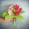 Petit Bouquet Of Origami Flowers