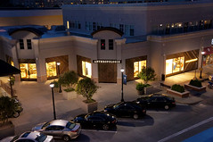 Anthropologie Storefront (Visit North Hills) Tags: fashion sign shop night shopping spring clothing women shoes exterior raleigh womens clothes midtown storefront anthropologie northhills fromroof midtownraleigh jonmasterson