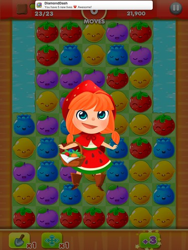 Fruit Splash Mania Level Completed: screenshots, UI