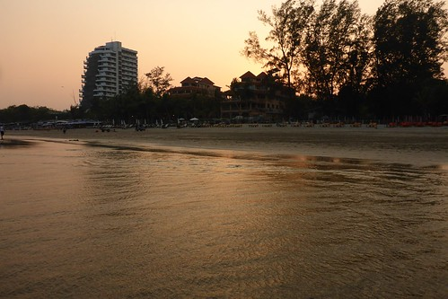 Sunset at Hua Hin