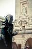 Nazgul and monument (DieDie1987) Tags: nikon cosplay sigma diego lord ring east venezia far f28 giulia nazgul friuli udine 1750mm d300s