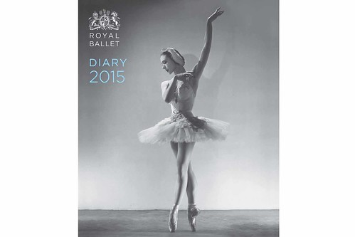 Illustrated Royal Ballet desk and pocket diary 2015 © Frances Lincoln
