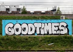 graffiti (wojofoto) Tags: holland amsterdam graffiti nederland netherland goodtimes spoor trackside wolfgangjosten wojofoto