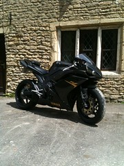 YAMAHA R1 (shagracer) Tags: black sports bike midnight motorcycle yamaha motor r1 yzf 4c8 shagracing