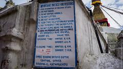 Ступа Бодднатх в Катманду, Непал
