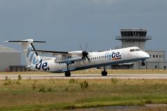 DHC-8Q-402 Dash 8, G-ECOT (WestwardPM) Tags: dash8 flybe newquayairport newquaycornwallairport dehavillandcanada dhc8q402 gecot