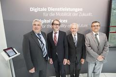 Frédéric Cuvillier, Alexander Dobrindt, Rüdiger Grube and José Viegas
