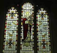 Suffolk, Darsham (jmc4 - Church Explorer) Tags: david church window glass suffolk stained harp darsham purvis