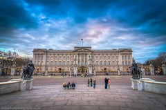 Buckingham Palace tourists (nickjacksonphotography) Tags: england colour london art tourism beautiful westminster st thames river print square day cathedral market greenwich trafalgar pauls palace tourist photograph ready borough daytime buckingham incredible hdr