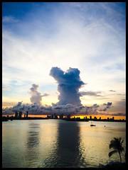 Cloudy Skyline @Miami (claudia_sullivan) Tags: miami phonar looking4light nationlooking4light