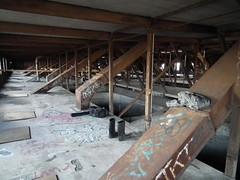 Silos May 2014 (CAngstrom) Tags: chicago abandoned river decay grain bin silos derelict damen