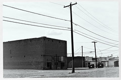 coolidge 04224 (m.r. nelson) Tags: arizona urban bw usa southwest monochrome america landscapes blackwhite az roadtrip bn americana urbanlandscapes artphotography mrnelson newtopographic markinaz sonya77 nelsonaz 24may2014