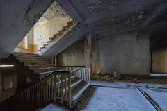 passing by (MGness_) Tags: urban abandoned stairs lost rust ruins place floor explorer dream corridor rusty places creepy ruine step staircase forgotten urbanexploration exploration decayed urbex abandones lostplace urbexery