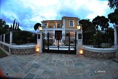 Kifisia old mansion (g_athens [swaping]) Tags: dusk mansion buiding kifisia βράδυ κηφισιά αρχοντικό