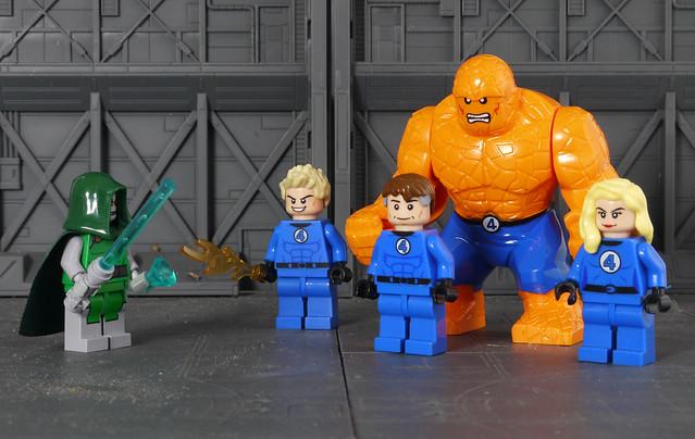 Dr. Doom VS. Fantastic Four
