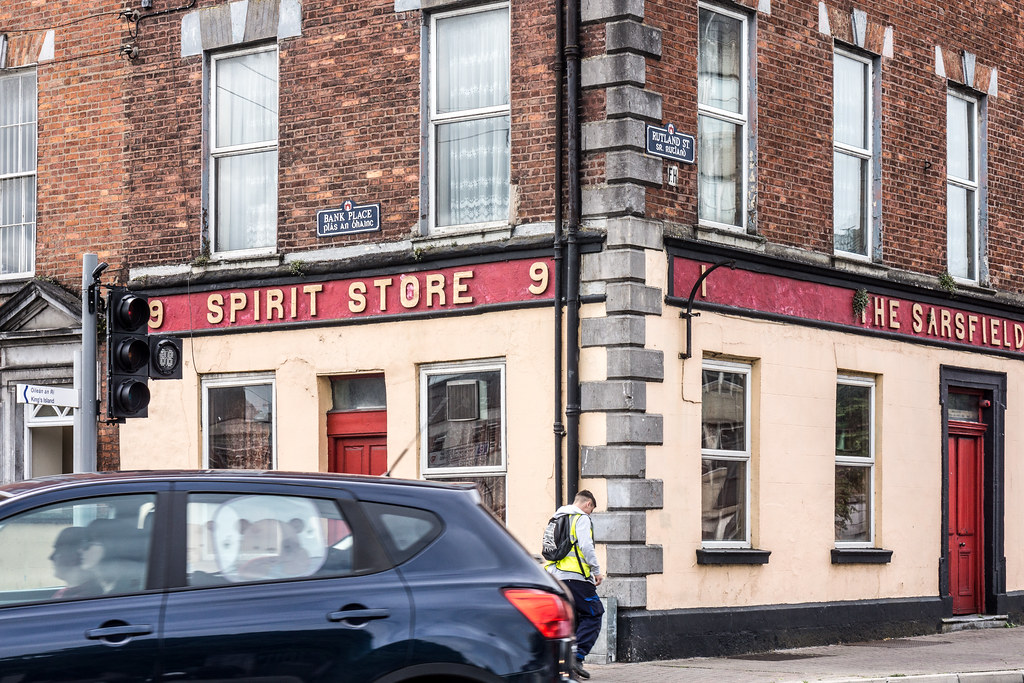 THE SARSFIELD PUB ON RUTLAND STREET IN LIMERICK