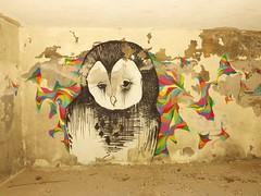 owl (aestheticsofcrisis) Tags: street urban streetart art portugal graffiti mural europe lisboa lisbon urbanart intervention guerillaart muralism