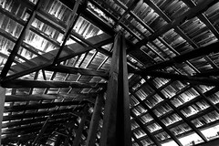 Thatched as if Sketched (ysoseriuos) Tags: roof india house rooftop sepia architecture perspective culture wideangle ceiling tokina chennai oldfashioned thatched traditionalhouse dakshinchitra indianarchitecture 2013 1116mm28 worldwidephotowalk chennaiweekendshots scottwelbyworldwidephotowalk2013