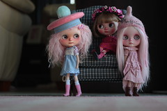 Three more girls that came to Blythe Fest with me