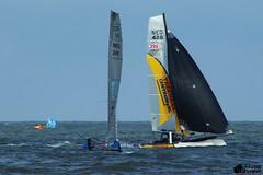 Rondje Texel 2014 (Romar Keijser) Tags: strand race cat nederland noordzee zee catamaran round 17 37 om branding texel catamarans noord kust paal ronde knrm teso marsdiep rondje 37e 37ste
