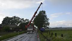 D - Knop + Wagenborg at work (BonsaiTruck) Tags: grove cranes camion trucks coronado kran recovery lorries lkw krne knop freightliner ladbergen wagenborg bergung autokran mobilkran nedlift sommergrottke
