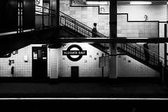 #LiveLondon - Underground (Luminor) Tags: leica uk england people london me station contrast 35mm blackwhite movement mood tube streetphotography rangefinder east summicron transportation fullframe tones aldgate edgy livelondon germanmade localscenes exhiibtion lifeinlondon theleicameet streetoggs