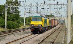 90042_90045_Acton Bridge_4K64_260714_1 (DS 90008) Tags: railway container locomotive freightliner class90 wcml 90045 90042